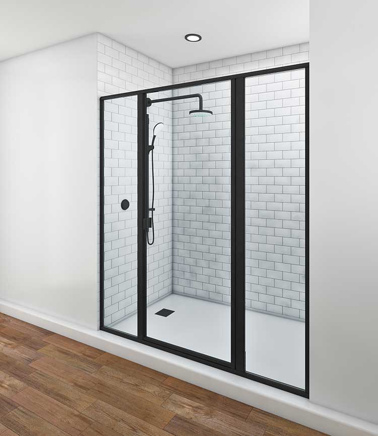 5.Classic-SWING-DOOR-WITH-2-IN-LINE-PANEL__STRIPPED-DOWN---ANGLE-1_MATTE-BLACK-750-1