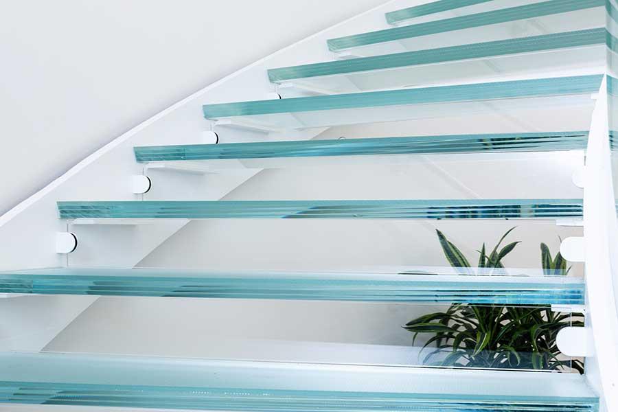 Glass Stair Treads